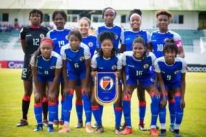 Haïti - Sport : Éliminatoires Coupe du Monde Féminine U20: en mode « goudougoudou », les Grenadières survolent la phase de groupe 2