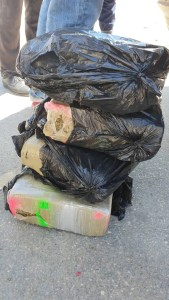 Haïti - Stupéfiants  : 111,8 kg de cannabis saisis par des agents douaniers à Belladère 2