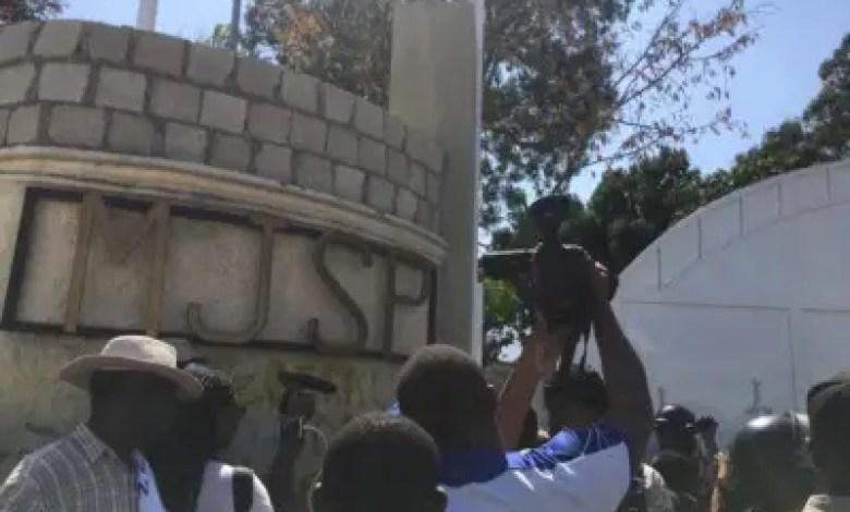Haïti-Insécurité: Des citoyens marchent par centaines et disent NON à l'insécurité 1