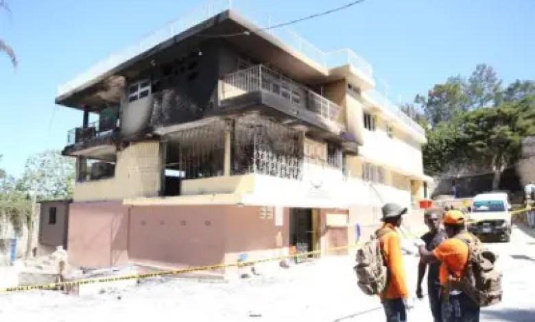 Haïti -Drame : Incendie à l'Orphelinat de Fermathe: La convocation renvoyée sine die 1