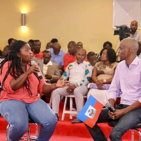 Haïti-Elections: Jovenel Moïse entend faire de 35 circonscriptions la chasse-gardée des femmes 2