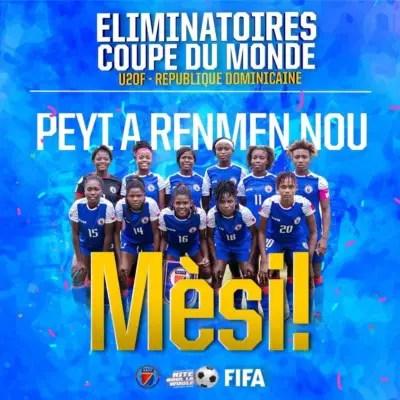 Éliminatoires Coupe du monde U20: Une symphonie inachevée pour les grenadières 2