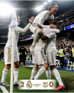 Sport : Avec deux buteurs inespérés,   le Real s'offre le 180e Clasico de la Liga 2