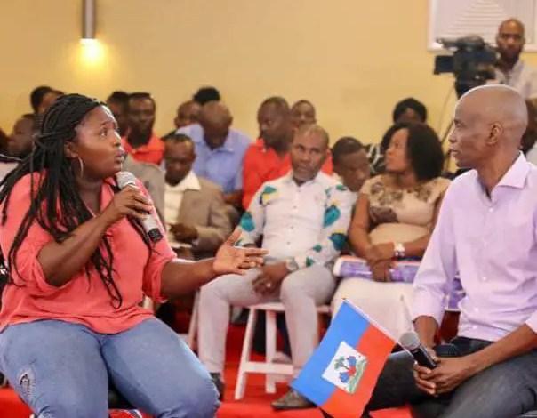Haïti-Elections: Jovenel Moïse entend faire de 35 circonscriptions la chasse-gardée des femmes 1