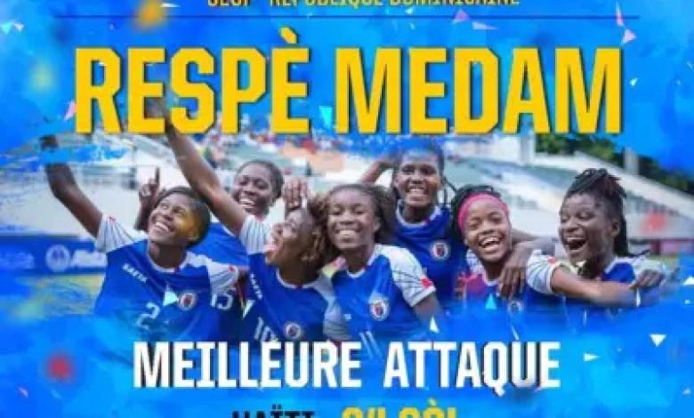 Haïti - Sport : Éliminatoires Coupe du Monde féminine U20: Haïti est en 1/2 finales 1