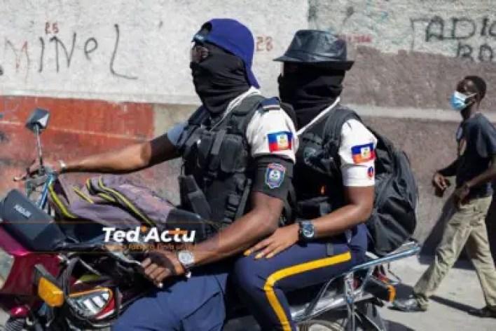 Haïti -PNH : L'administration Moïse-Jouthe admet le droit des policiers de syndiquer 2