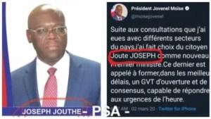 Haïti : Joute ou Jouthe? Répondez Monsieur le Président 2