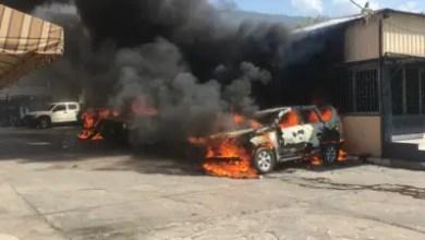 Photo de Véhicules incendiés, violence, les ''Fantômes 509'' ne baissent pas la garde
