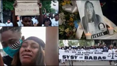 Photo de Des pleurs, des cris et des mots, pour exiger « justice » en faveur de Nancy et Sébastien