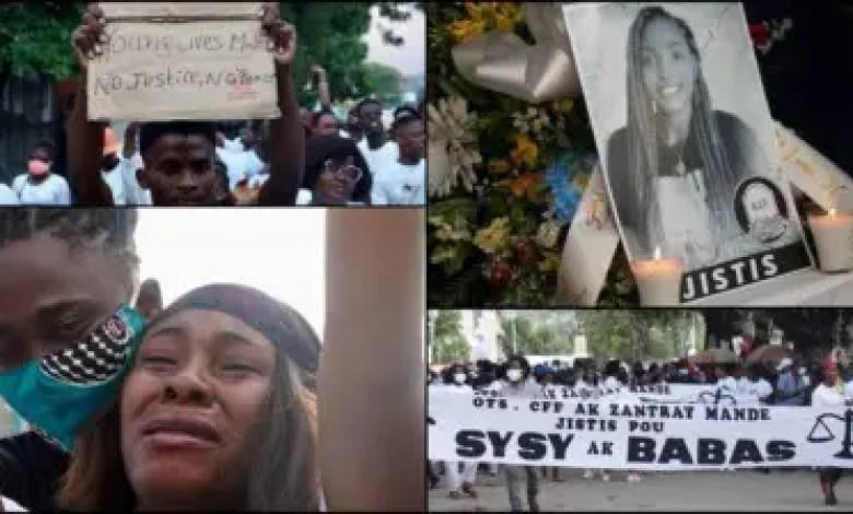 Des pleurs, des cris et des mots, pour exiger « justice » en faveur de Nancy et Sébastien 1