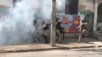 Photo de Sous la coupe réglée de l'Éxecutif, la PNH tue dans l'œuf une manifestation d'étudiants