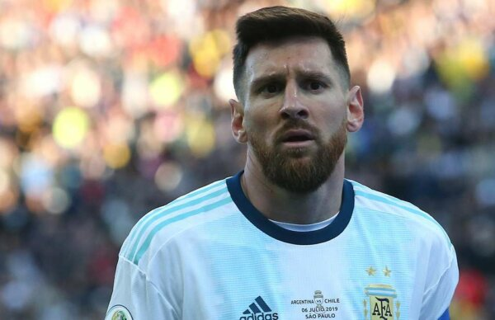 Excuses de Lionel Messi à la Conmebol