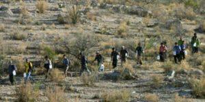 Diminution des migrants illégaux à la frontière américano-mexicaine 1