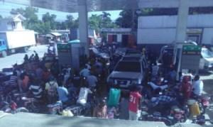 La rareté de l'essence persiste à Miragoâne (Nippes) 1