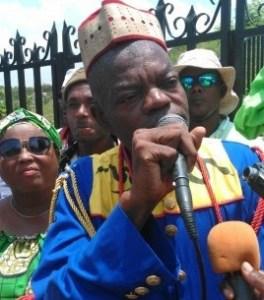 Le roi du vodou haïtien Augustin Saint-Clou victime d'un braquage à l'Éstère (Artibonite) 1