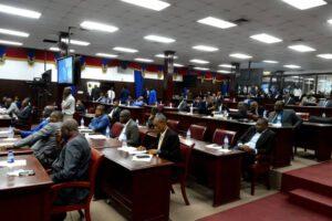 Tension à proximité du Parlement, début de la séance sur la mise en accusation du Président Jovenel Moïse 1