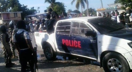 Un présumé chef de gang arrêté par la police à Martissant (Port-au-Prince)