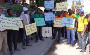 Miragoâne (Nippes) : Une marche organisée par l'ONG CARITAS pour denoncer la mauvaise gouvernance en Haïti 1