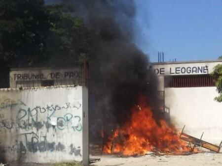 Léogâne (Ouest) : des institutions publiques et privées objets d'actes de pillage et de vandalisme