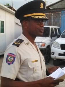 Le commissaire divisionnaire Frantz Mathurin installé à la tête de la police des Nippes 2