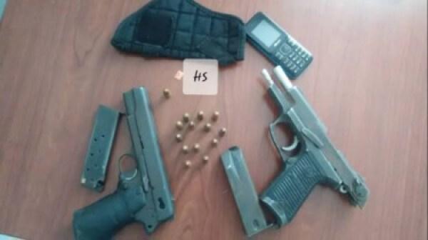 """Miragoâne (Nippes) : 2 individus arrétés par la police dans une localité appelée """"Lomon"""" 1"""