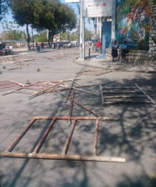 Port-au-Prince : des étudiants se mobilisent contre le kidnapping 1