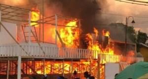 Jacmel (Sud'Est) : incendie du club Mazmode à l'avenue Barranquilla