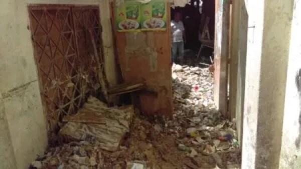 Port-au-Prince : inondation du marché de Canapé-Vert 1