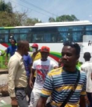 Port-de-Paix (Nord'Ouest) : libération des passagers à bord de l'autobus détourné par des bandits