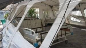 Des employés du Centre ambulancier national ont saboté un espace destiné à recevoir les patients du COVID-19, aux Gonaïves