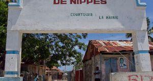 Grand Boucan (Nippes) : incendie au local de la Mairie