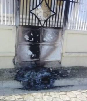 Cerca-Cavajal (Centre) : tentative d'incendie de la Mairie