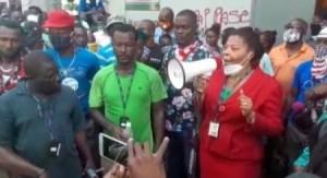 Des employés de l'Ed'H continuent d'exiger la révocation de Michel Présumé à la tête de l'institution