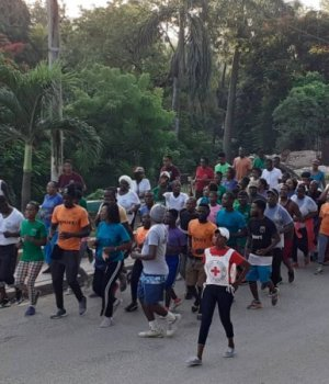 Miragoâne (Nippes) : l'Institut Shaka académie de sécurité invite les jeunes à rester en forme