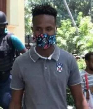 Libération du policier Jean Pascal Alexandre