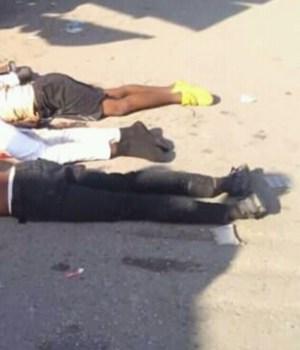 Tension à carrefour Saintus, des proches des 4 jeunes exécutés à Port-au-Prince réclament justice