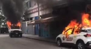 Haïti - protestation : 3 véhicules incendiés à Port-au-Prince