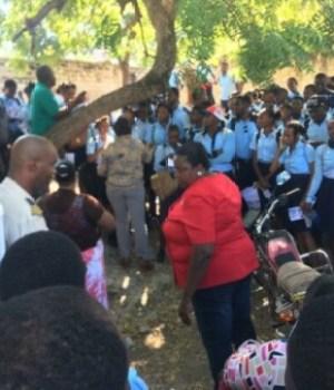 Miragoâne (Nippes) : le MCFDF veut s'attaquer à la violence contre les femmes et les filles
