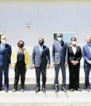 Rencontre entre le Président Jovenel Moïse et les membres de la mission de l'OEA dépêchée en Haïti