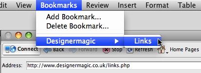 Bookmarks List