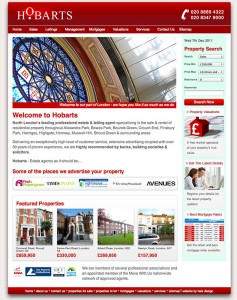 Hobarts 2011 website