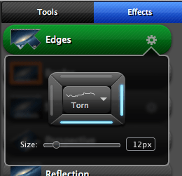 Edge effects in Snagit