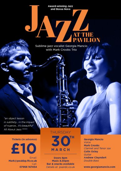 Mark Crooks Jazz poster