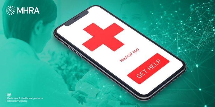 Medical app graphic