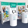 Health Summit stand mockup