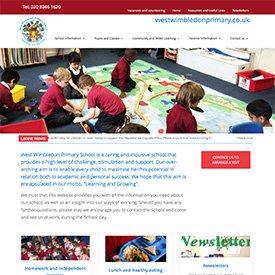 West Wimbledon Primary Website