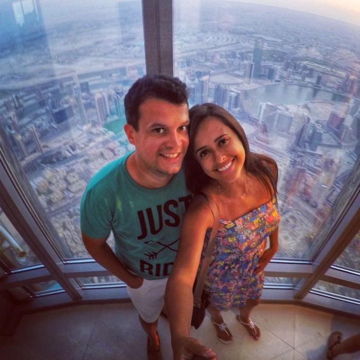 o que fazer em Dubai: vista do Burj Khalifa