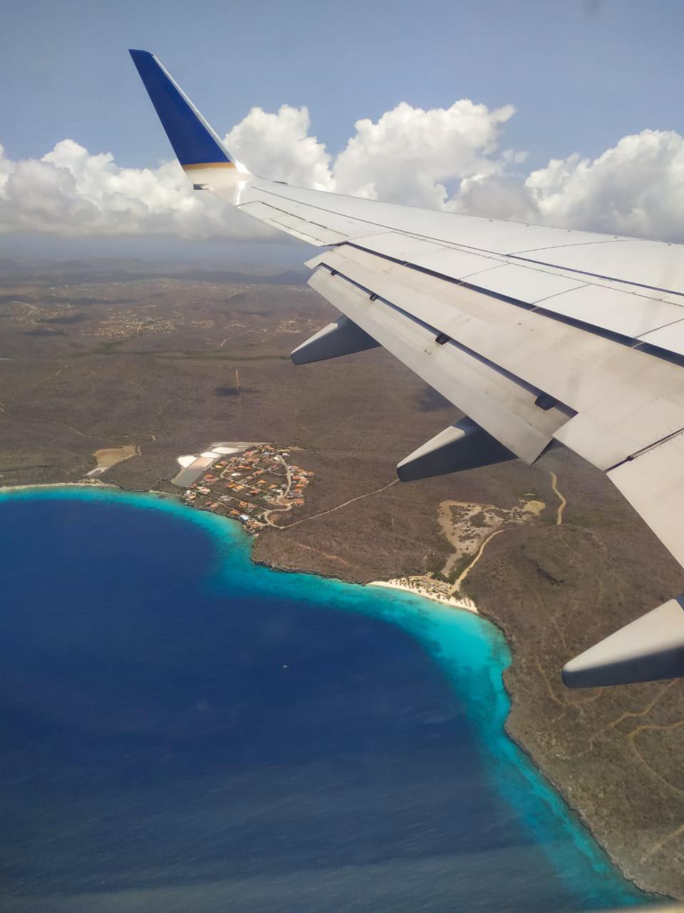 Curaçao vista por cima