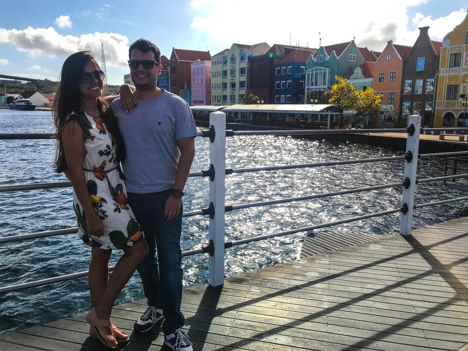O charmoso centro histórico de Curaçao
