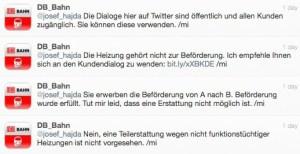 Twitter - Bahn